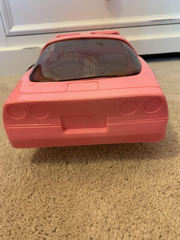 Barbie Corvette