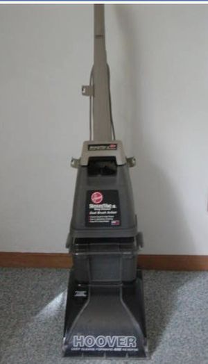 HOOVER Deep Cleaner STEAMVAC Carpet Cleaning STEAMER used once to clean 7 Rooms worked GREAT! Floor Water Extractor Extraction STEAM VAC DUAL BRUSH for Sale in Glendale, AZ