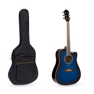 41 Inch Full Size Acoustic Electric Cutaway Guitar Set With 10 Watts Amp for Sale in Manchester, CT