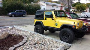 Jeep, 2000 TJ for Sale in Santee, CA