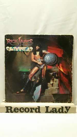"""Rick James """"Throwin' Down"""" vinyl record Funk/Rock for Sale in San Diego, CA"""