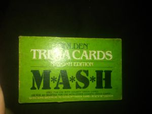 M*A*S*H trivia cards for Sale in Elwood, KS