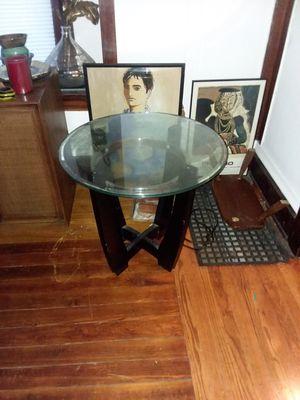 Glass table for Sale in Kalamazoo, MI