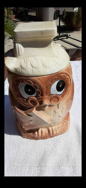 Vintage Owl Cookie Jar for Sale in Fresno, CA