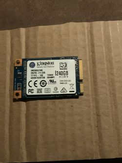 KINGSTON MSATA 240 GB SSD for Sale in Chicago,  IL