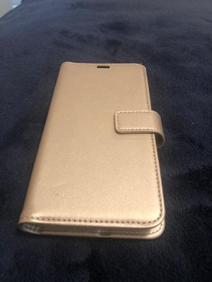 Skech- Polo Book Wallet Phone Case For Apple iPhone XS, Champagne for Sale in Las Vegas, NV