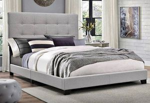 New Grey Queen Size Bed Only for Sale in Austin, TX