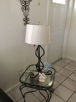 Metal lamp for Sale in Cape Coral, FL