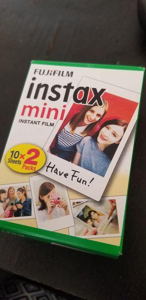 Fujifilm Instax Mini Film 10x2 per box for Sale in Miami, FL