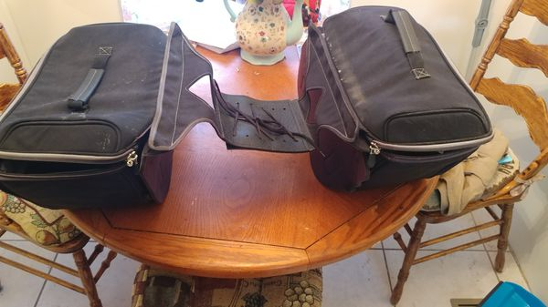 River road saddle bags