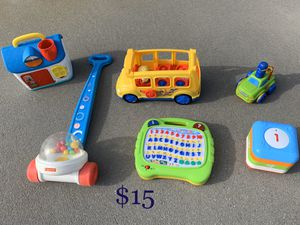 Lot of baby toys for Sale in Chesapeake, VA