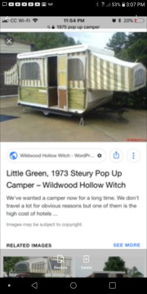 1973 STEURY POP UP CAMPER for Sale in Denver, CO