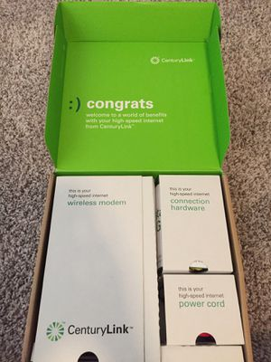 (Wi-Fi) CenturyLink internet modem and accessories for Sale in Lake Oswego, OR