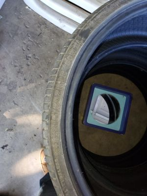 3 used tires size 235/30ZR22 90W Xl for Sale in Stockton, CA