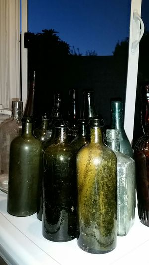 15 antique bottles for Sale in Seattle, WA