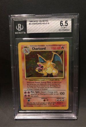 Charizard Base Set Pokemon Card - Graded 6.5 for Sale in Kent, WA