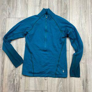 Smartwool 1/2 zip pullover* women's small* gently worn shape for Sale in Spokane, WA