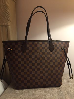 Louis Vuitton LV Damier Ebene Neverfull MM Tote Bag Purse Handbag for Sale in Downers Grove, IL
