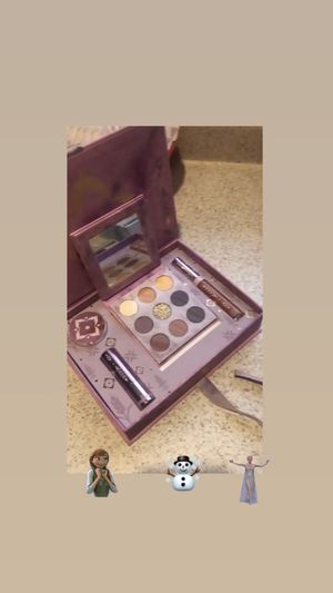 New in box colorpop frozen makeup both sets for Sale in Longmont, CO