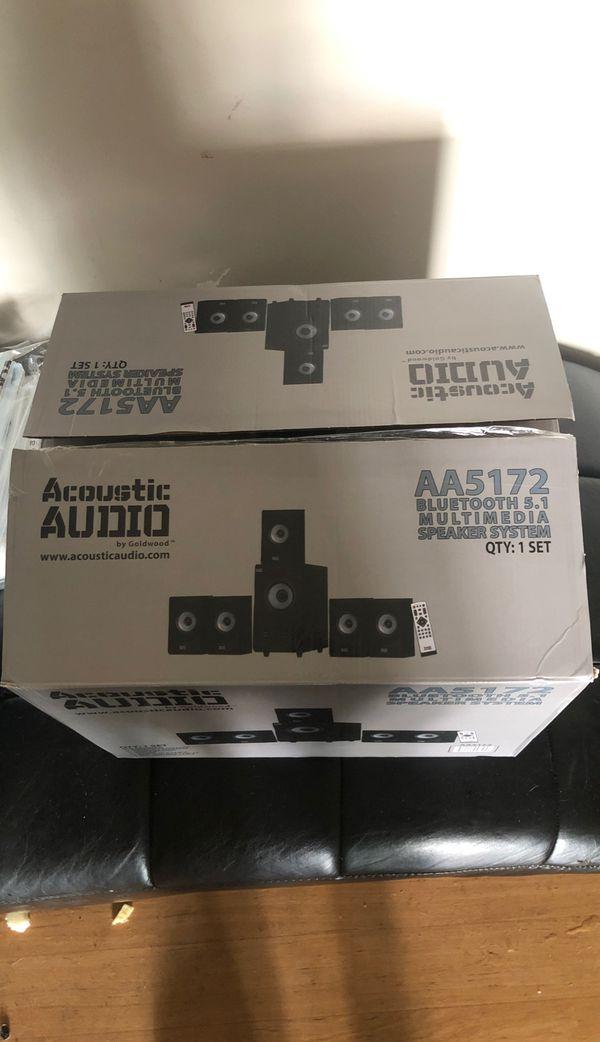 Acoustic Audio Bluetooth Speaker BRAND NEW