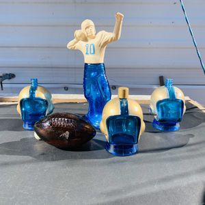 Vintage Avon Football Bottle Collection for Sale in Haskell, OK