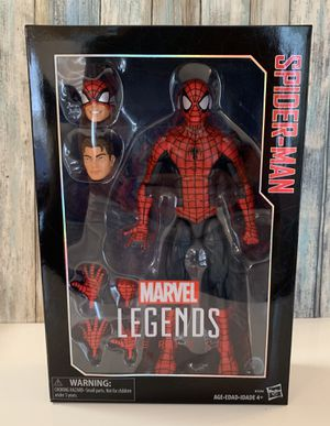 Marvels Legend Series 12 inch Spider-Man Collectible Action Figure for Sale in Durham, NC