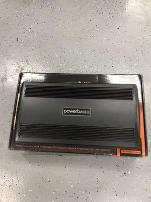5 channel 1400 watts car amplifier!!!! for Sale in West Valley City, UT