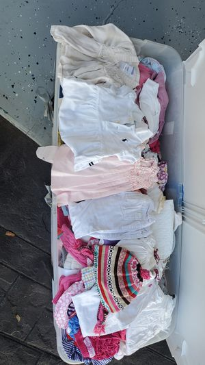 Full box baby clothes for Sale in Ocoee, FL