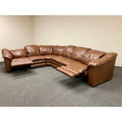 Real Leather Sectional Recliner in Perfect Conditions!! for Sale in Richardson,  TX