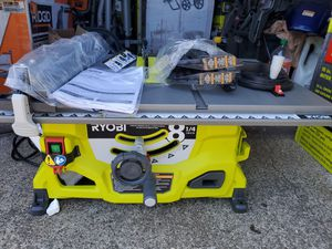 RYOBI 13 Amp 8-1/4 in. Table Saw for Sale in Westminster, CA