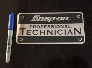 Original Snap On professional Technician Sticker Chrome for Sale in Hawthorne, CA