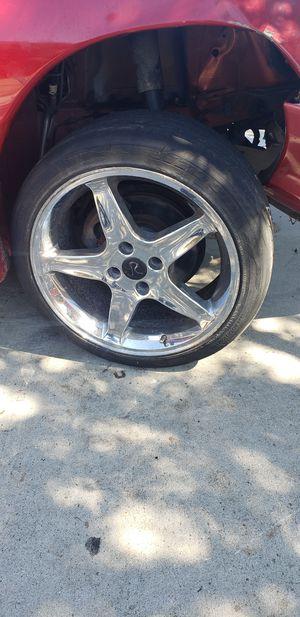 18 inch Mustang wheels. for Sale in Bellflower, CA