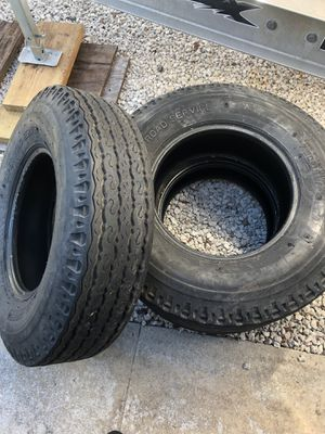 Three 7.5-16t tires for Sale in Hollywood, FL