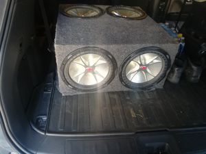 Subwoofer and. Amp for Sale in Chicago, IL