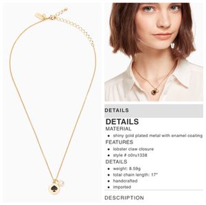 NEW! Kate Spade Spot the Spade Charm Necklace for Sale in Irving, TX