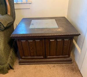Antique Wood End Table for Sale in Portland, OR
