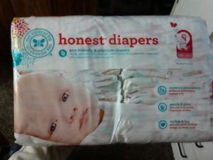 Honest diapers size N 1 pack for Sale in Auburn, WA