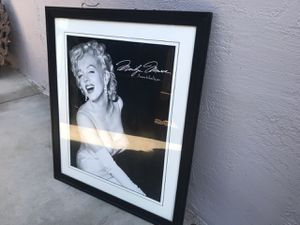 Marilyn Monroe picture for Sale in Manteca, CA