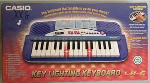 NEVER BEEN used Casio (Lighti-Up Keys) Keyboard Built In Music Model LK-6 for Sale in Artesia, CA