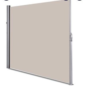 """Gymax 118.5"""" x 71"""" Patio Retractable Folding Side Awning Screen for Sale in Riverside, CA"""