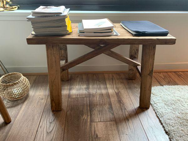 Reclaimed wood beautiful bench