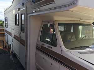 1984 24 ft Motorhome with only 35,000 miles for Sale in Ruston, WA