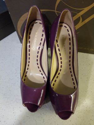 Purple platform stilettos for Sale in Dallas, TX