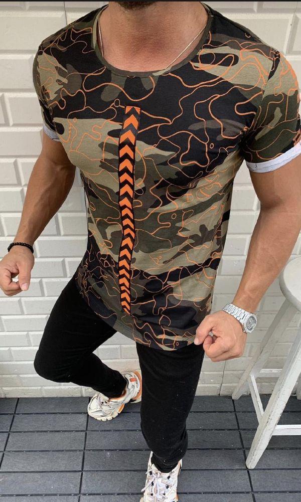 Men's fashion t shirt sizes small medium large Xl Slim fit