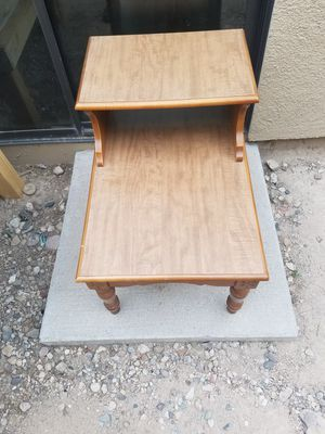 Vintage solid wood table for Sale in Tucson, AZ
