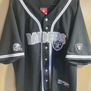 Oakland Las Vegas Raiders Baseball Jersey for Sale in Salinas, CA
