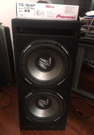 Subwoofers and free car speakers for Sale in Los Angeles, CA