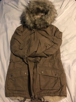 H&M beige Parka size 2 for Sale in Houston, TX