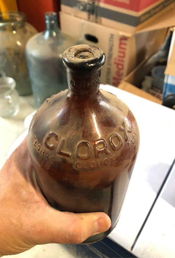 Antique Clorox bottles