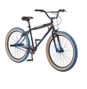 Mongoose Grudge BMX Freestyle bike, single speed, 26 inch wheels, mens, black for Sale in Chicago, IL